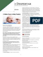 Toxinas Ocultas en Productos Para Bebes
