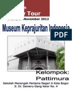 Study Tour, Museum Keprajuritan TMII