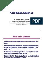 4)Acid Base Balance