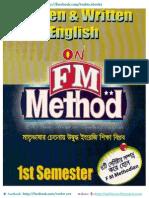 FM Method Book 1st Semester Final