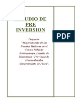 estudio de preinversion