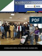Informacion Abril-mayo 2015 Consulado de Colombia en Tokio
