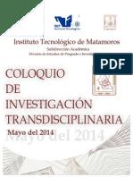 Coloquio de Investigacion Transdisciplinaria