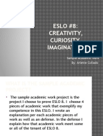 sample academic work-eslo 8