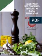 RECETARIO VINAGRETAS