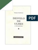 Desvelo de Ulises