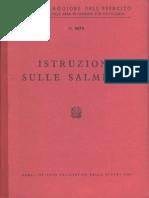 Istruzione sulle Salmerie (Testo e Tavole) (5675) 1968