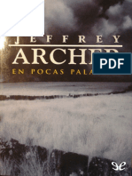 Archer, Jeffrey - En Pocas Palabras