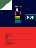 Digital Booklet - X & Y (coldplay)