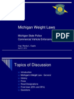 MSP weight laws presentation