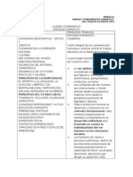 Cuadro Comparativo Conceptos y Principios Teoricos MÓDULO I CURSO INTEGRAL