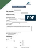 Formulario Solicitud Acceso Informacion Publica