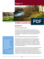 Chapter 11 Steep Slope Protection