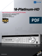 S76752 PDRH16 Platimum HD Brochure