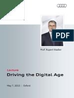 Rupert Stadler - Driving the Digital Age