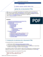 La Estructura Global de Un Documento HTML