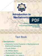 P # 1, Introduction to Mechatronics
