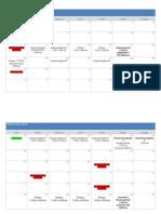 Calendario Camerata