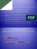 Objetos de Estudio de La Psicología Con Enfoques 1