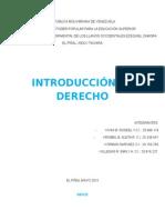2 Trabajo Derecho IN TRODUCCION AL DERECHO