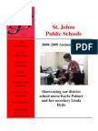 District Annual Report 2008-2009