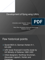 Development of Flying Wing UAV