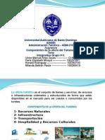 Grupo No. 4 Componentes de La Oferta Del Turismo