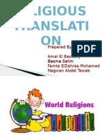 Religious Project Presentation