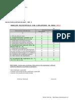 Nota Explicativa Bilant 2012