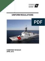 US Coast Guard Uniform Regualtions - CIM_1020_6H