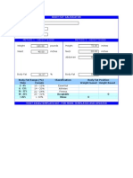 Body Fat Calculator V1.2