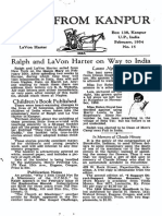 Harter Ralph LaVon 1954 India