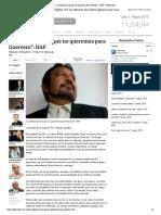 """05-05-15 """"La violencia es la que no queremos para Guerrero"""":"""