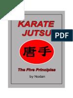 45 Web Bk, Karate Jutsu