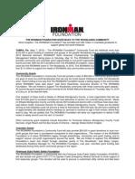 The IRONMAN Foundation - 2015 IRONMAN Texas Final