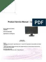 Benq G2420 HD Service Manual