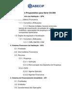 Conteúdo Programático CA300