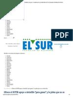 """04-05-15 Ofrece el SUTIR apoyo a Astudillo """"para ganar"""" y le piden que no se olvide ellos"""