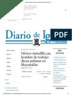 06-05-15 Héctor Astudillo,un hombre de trabajo dicen priistas en Mayanalán