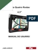 Manual Guia Quatro Rodas 4.3'' Sem TV