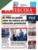 Diario La Tercera 07.05.2015
