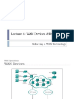 Lecture 4-Selecting Wan Devices and Technology