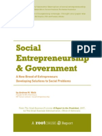 """The Best Summary/Taxonomy/Description of Social Entrepreneurship I've"