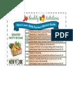 Oswego County Farmers Market Guide 2015