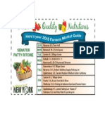 St Lawrence County Farmers Market Guide 2015