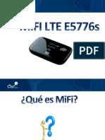Capacitación MIFI LTE