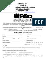 Day Camp 2015 Enrollment Form