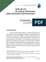 A Construção de Um Pensamento Latino-Americano Sobre Assuntos Internacionais - Eduardo Devés-Valdés