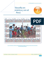 Sem 7- La Filosofía en Latinoamerica y en El Perú