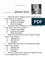 Henri Matisse Quiz created by Cleo March 2015.docx